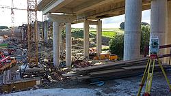 Einsturz Schraudenbachtalbrücke im Juli 2016