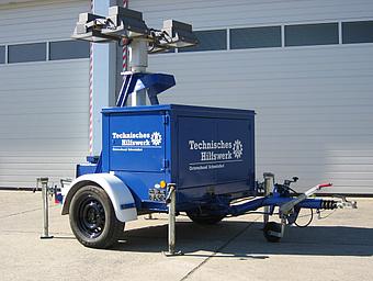 Anhänger Lichtmast 8 kVA (Anh LiMa 8)